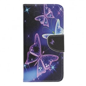 Samsung Galaxy A20e perhoset suojakotelo