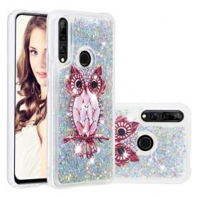 Huawei P Smart Z / honor 9X glitter hile pöllö suojakuori