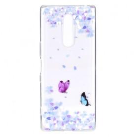 OnePlus 7 Pro läpinäkyvä perhoset suojakuori