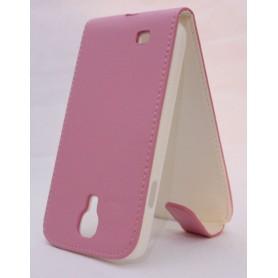 Galaxy S4 pinkki läppäkotelo.