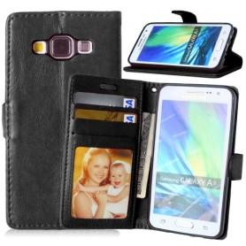 Samsung Galaxy A3 musta suojakotelo
