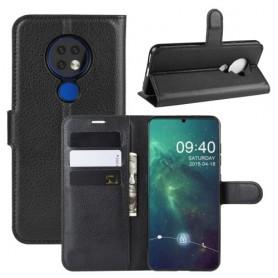 Nokia 6.2 musta suojakotelo