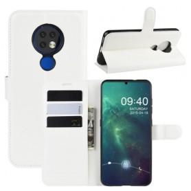 Nokia 6.2 valkoinen suojakotelo