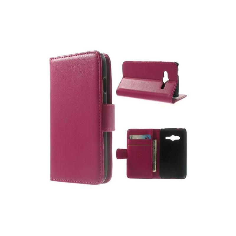Galaxy Ace 4 hot pink puhelinlompakko