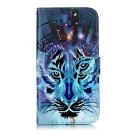 iPhone 11 sininen tiikeri suojakotelo