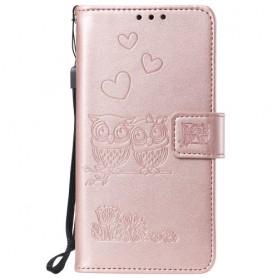iPhone 11 Pro ruusukulta pöllöt suojakotelo