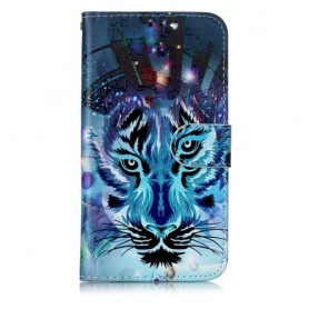 iPhone 11 Pro sininen tiikeri suojakotelo