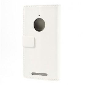 Lumia 830 valkoinen puhelinlompakko