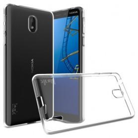 Nokia 1 plus ultra ohuet läpinäkyvät kuoret