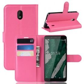 Nokia 1 plus pinkki suojakotelo