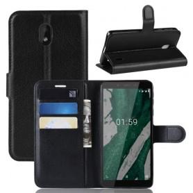 Nokia 1 plus musta suojakotelo