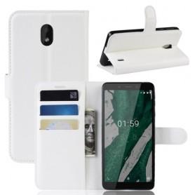 Nokia 1 plus valkoinen suojakotelo