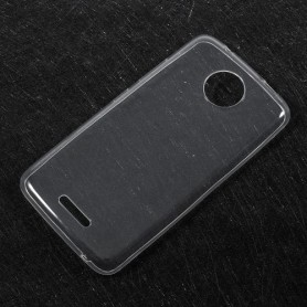 Lenovo Moto C Plus läpinäkyvä suojakuori.