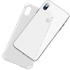 iPhone X / Xs ultra ohuet läpinäkyvät kuoret
