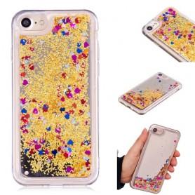 iPhone 6/6s/7/8 kullanvärinen glitter hile suojakuori