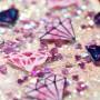 iPhone 6/6s/7/8/SE 2020 glitter hile timantit suojakuori