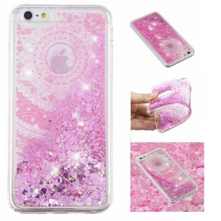 iPhone 6/6s/7/8/SE 2020 glitter hile mandala suojakuori