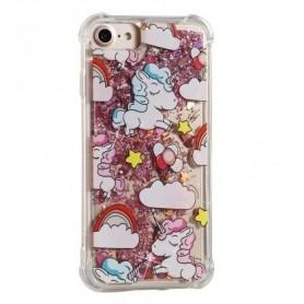 iPhone 6/6s/7/8 glitter hile yksisarviset suojakuori