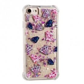 iPhone 6/6s/7/8 glitter hile timantit suojakuori