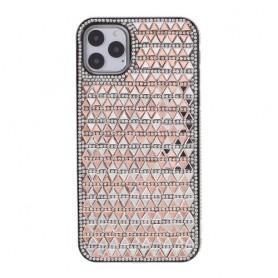iPhone 11 pro ruusukulta tekojalokivi suojakuori