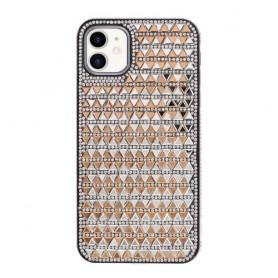 iPhone 11 kullanvärinen tekojalokivi suojakuori