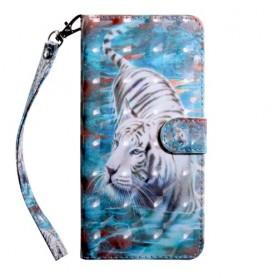 Nokia 6.2 / 7.2 valkoinen tiikeri suojakotelo