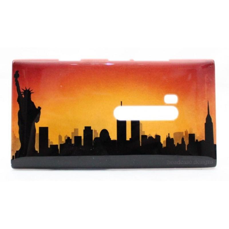 Lumia 900 suojakuori New York siluetti.