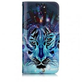 OnePlus 7 sininen tiikeri suojakotelo