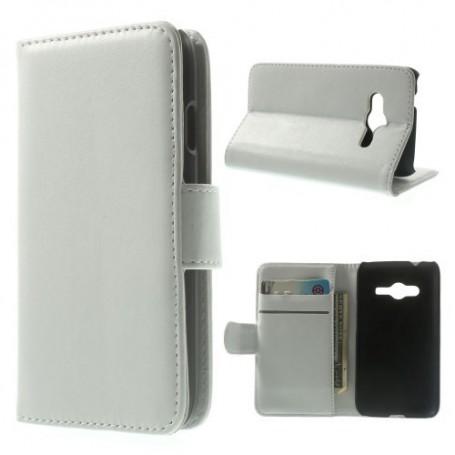 Galaxy Trend 2 valkoinen lompakkokotelo