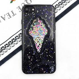 iPhone 6 / 6s musta jäätelökuori