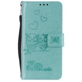 OnePlus 7T mintunvihreä pöllöt suojakotelo