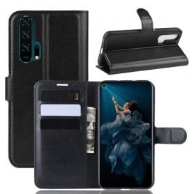 Huawei Honor 20 Pro musta suojakotelo