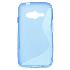 Galaxy Trend 2 sininen silikonisuojus.