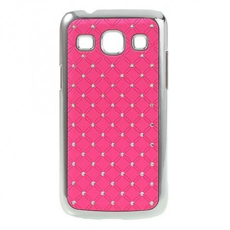 Galaxy Core Plus roosan punaiset luksus kuoret