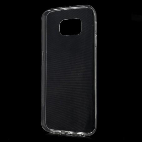 Galaxy S6 läpinäkyvä silikonisuojus.
