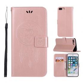 iPhone 7 Plus / 8 Plus ruusukulta unisieppari suojakotelo