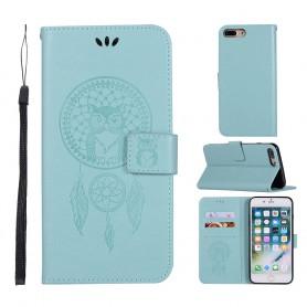 iPhone 7 Plus / 8 Plus mintunvihreä unisieppari suojakotelo