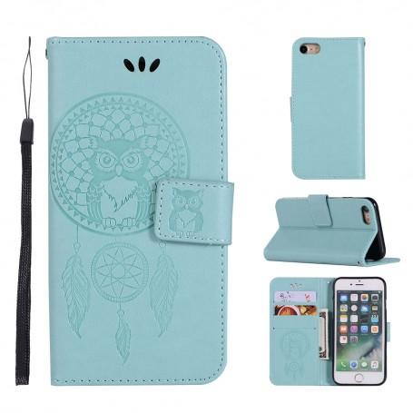 iPhone 6 Plus / 6S Plus mintunvihreä unisieppari suojakotelo
