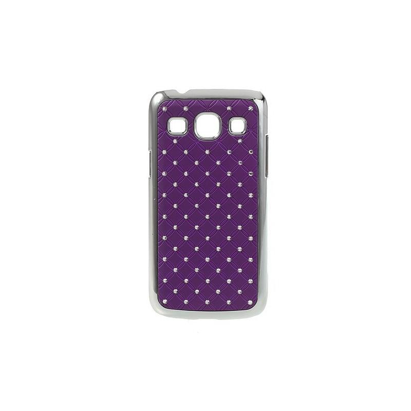 Galaxy Core Plus violetit luksus kuoret