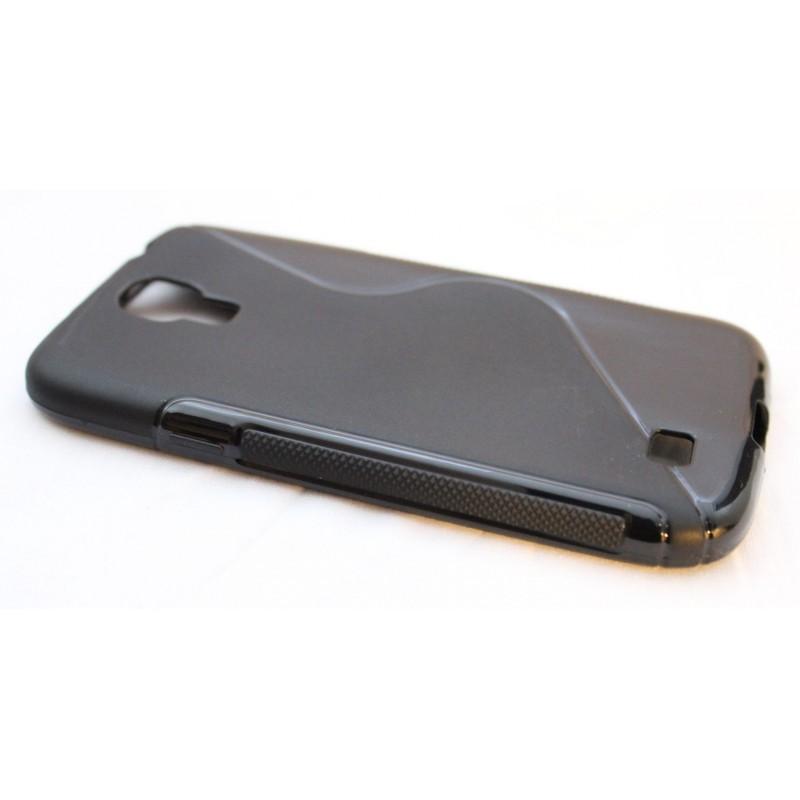 Galaxy S4 musta silikoni suojakuori.