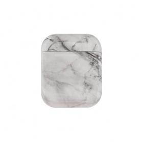 AirPods kotelon suojakuori valkoinen marmori