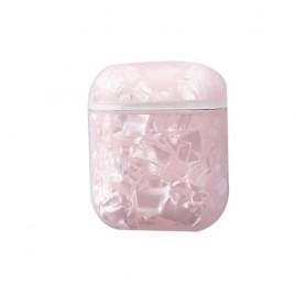 AirPods kotelon suojakuori pinkki marmori
