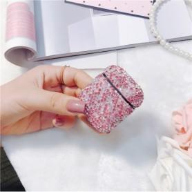 AirPods kotelon suojakuori pinkki glitter