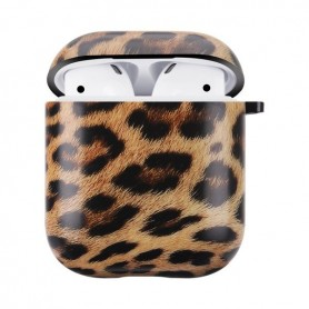 AirPods kotelon suojakuori leopardi