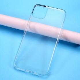 iPhone 11 Pro Max läpinäkyvä suojakuori.