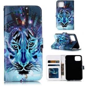 iPhone 11 Pro Max sininen tiikeri suojakotelo