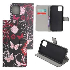 iPhone 11 Pro Max kukkia ja perhosia suojakotelo