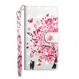 Huawei Honor 20 Lite kukkiva puu suojakotelo