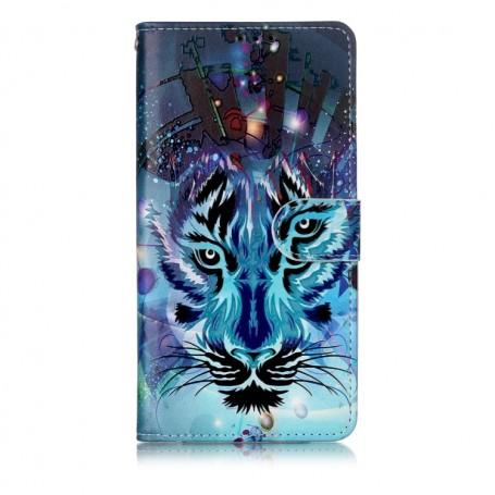 Huawei P30 Lite sininen tiikeri suojakotelo