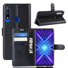Huawei Honor 9X / Huawei P Smart Pro musta suojakotelo